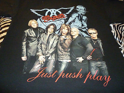 Aerosmith  2001-2002 Tour Shirt Size L Missing Tags - Very Good Condition!!!