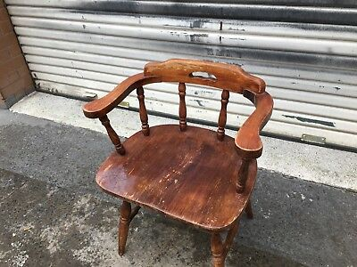 Cool Old Wooden Vintage Chair