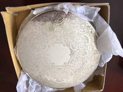 Strachan Silver Plate Round Dining Mats - 7""