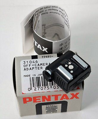 Pentax Hotshoe adapter F 31046 Made in Japan NOS
