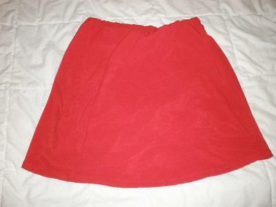 skort shorts red wrap skirt styling new  without tag