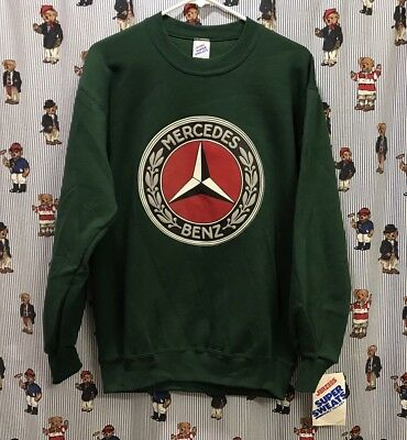 NWT VTG 80s 90s Mercedes-Benz Bootleg Sports Car Racing Crewneck Sweatshirt - M
