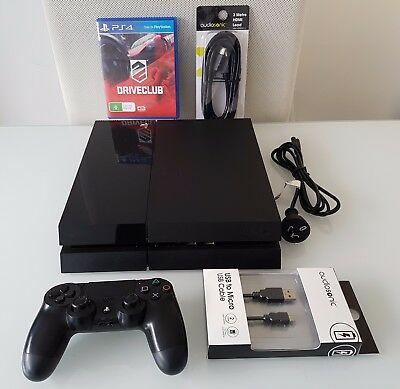 Sony Playstation 4 PS4 500 GB Console + 1 x Controller + HDMI + DRIVECLUB Game