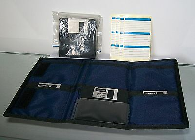 Dick Smith 3.5 Inch H.D. Diskettes in New Old Stock Soft Case Holder Pouch Rare!