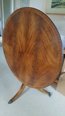 Vintage tilt top table