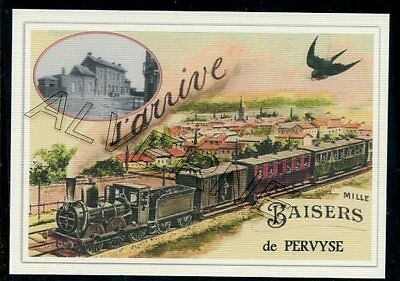 PERVYSE   - train souvenir creation moderne - serie limitee numerotee