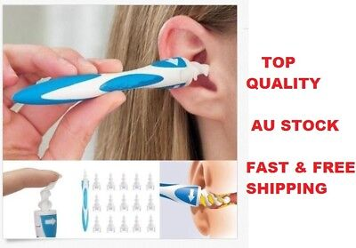 Smart Swab Easy Earwax Removal Soft Spiral Ear Cleaner Prevents Earwax Buildup