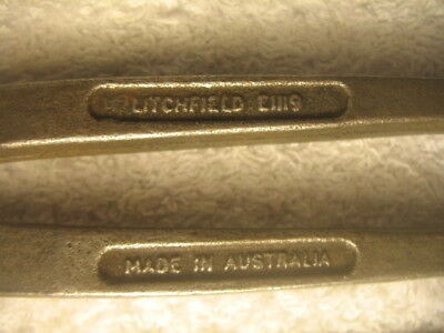 Vintage Tool Litchfield Plier Australia Made Motoring Car Truck Collectible