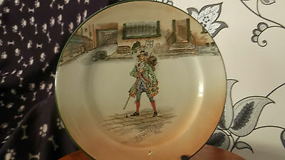 Royal Doulton Dickens Series Ware   Dinner Plate With Barnaby Rudge