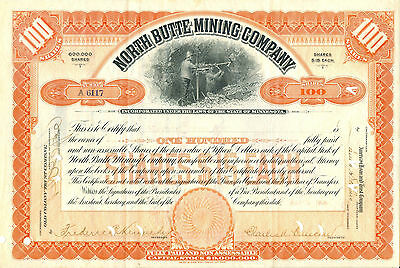 North Butte Mining Company 1906