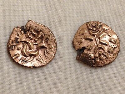 vep corf celtic gold stater corieltauvi metal detecting find