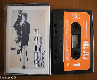 "The Style Council "" Home & abroad. """