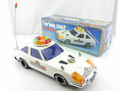 Son Ai Toys Datsun Fairlady 280 Z Police Japan? Battery toy OVP 1412-02-13