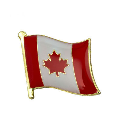 CANADA FLAG Enamel Pin Badge Lapel Brooch Fashion Gift Jewellery Canadian PN2