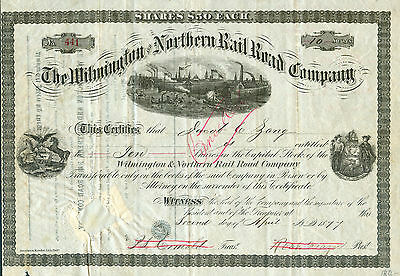 The Wilmington & Northern RR Company 1877 - R A R I T Ä T