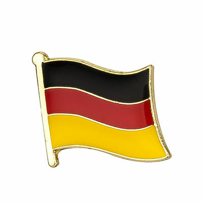 GERMANY FLAG ENAMEL PIN Badge Lapel Brooch Fashion Gift Jewellery GERMAN PN4
