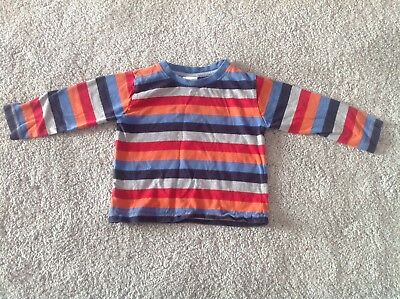 Baby Boys Long Sleeve striped Top from peacocks 18-24 months