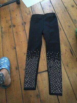 Girls River Island Trousers Age 7-8 Years