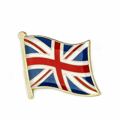 UNITED KINGDOM FLAG ENAMEL PIN Badge Lapel Brooch Fashion Gift Hat UK PN8