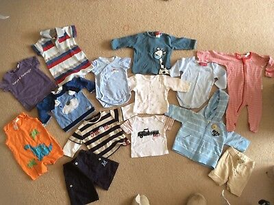 Huge Bulk 14 Pc Bundle, Brand Name Baby Clothes, Purebaby, Sprout & More. Sz 000