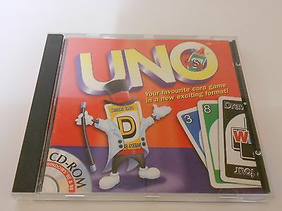 UNO - Mattel Interactive CD-ROM - 2000 - Your favourite card game for the PC