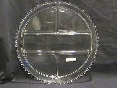 Imperial Candlewick 5 Part Relish Tray