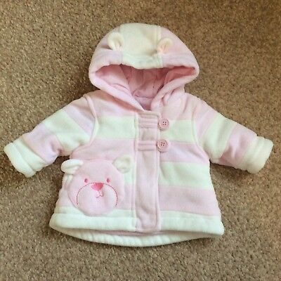 💕 Baby Girls Coat - George - Age First Size - New Without Tags -Super Cute!! 💕