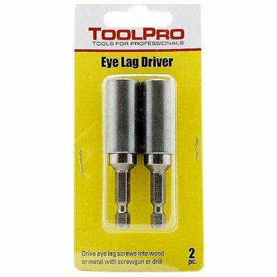 Toolpro TP05032 Acoustical Lag Driver, 2 Pieces