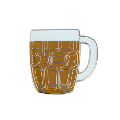 BEER MUG ENAMEL PIN Badge Lapel Brooch Fashion Gift Jewellery Hat PN17