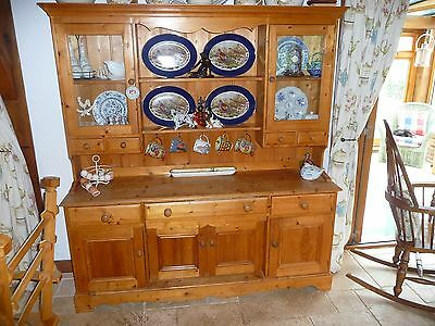 Antique Stained Welsh Dresser