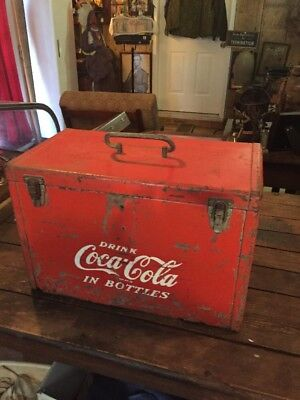 Vintage Coca Cola Airline Cooler