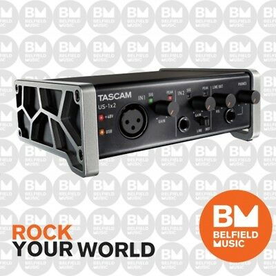 Tascam US-1X2 USB Audio Interface 1-In/2-Out - Brand New - Belfield Music
