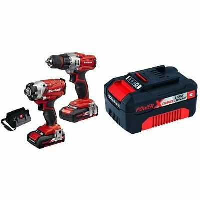 einhell te ci 18 li kit power x change system akku schlagschrauber akkuschrauber eur 31 00. Black Bedroom Furniture Sets. Home Design Ideas