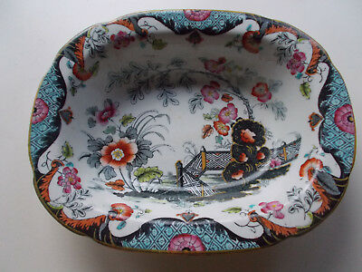 Antique Ridgways England Anglesey bowl