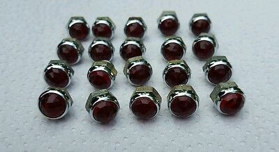 Vintage Red Jeweled  Panel Lights New Stock Lot of 20.