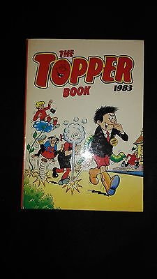 The Topper 1983 Vintage Annual Comic Hardback Book