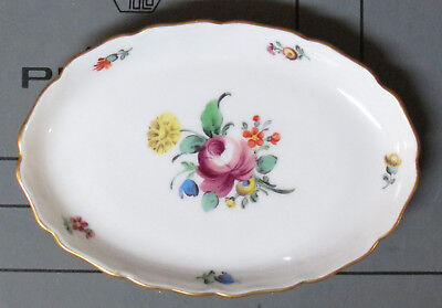 """Nymphenburg Porcelain Oval Plate 4.25"""" x 3.00"""""""