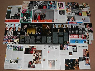 30+ SHIRLEY MANSON / GARBAGE Magazine Clippings