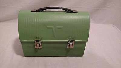 Vintage Thermos Mint Green Colored Miners Pail, Great Condition