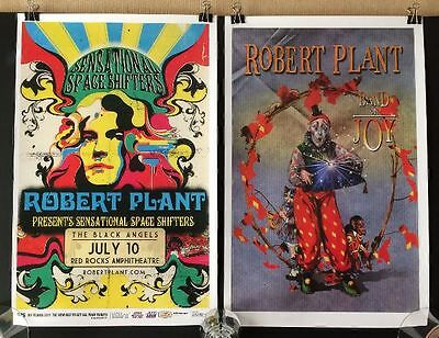 """Robert Plant """"Band of Joy"""" Posters - Excellent Condition"""