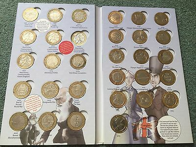 Great British Coin Hunt Royal Mint Collectors £2 Album