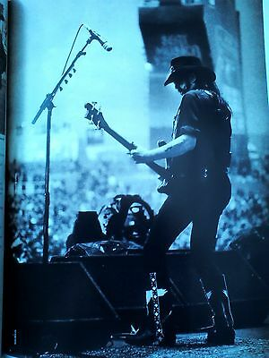 Lemmy Live Taken from Publication Motorhead 28x21cm to Frame