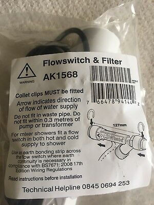 Whale Flow Switch And Filter AK1568 BNIP FAST P&P U.K.