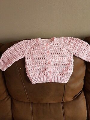 girls hand knitted cardigans