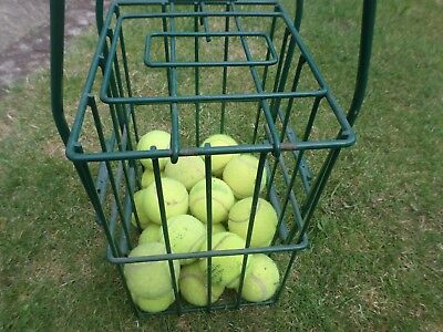 Tennis Ball Gathering & Storage Basket Cage in good used condition
