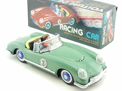MF 763 Racing Car graugrün No. 3 Friktion Sound Effects China OVP SG 1412-06-77