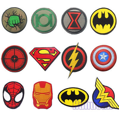 New Avengers Super Heroes Badge Patches Tactical 3D Badges Patch + Black Sticker