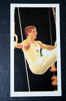 USSR   Gymnastics  Andrianov    Photo Card  #  VGC