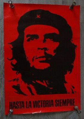 Ancienne Affiche poster Che Guevara - red Poster