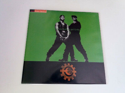 "C + C ""music Factory Do You Wanna Get Funky"" Maxi Spanish 12"" 2Vinyl Vg/ex Mbe/e"